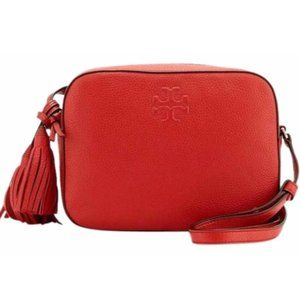 Tory Burch Thea Shoulder Bag in Brilliant Red